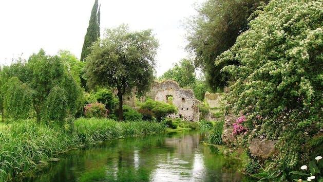 Ninfa Gardens & Sermoneta Castle