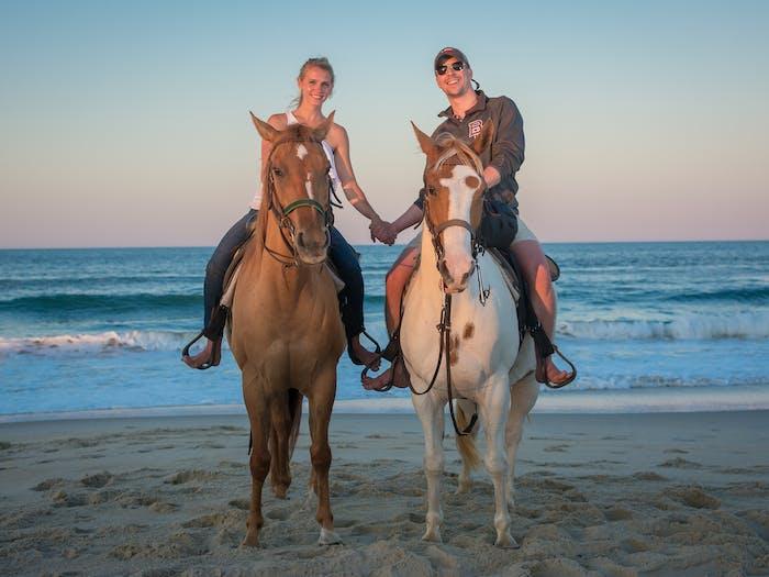 Outer Banks Guided Horseback Ride