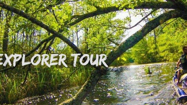 Shawn's Backwater Adventure Tour - 2 Hour Explorer