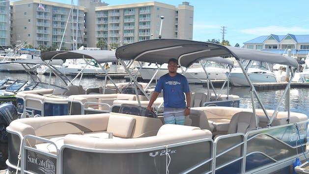 Myrtle Beach Pontoon Boat Rentals In North Myrtle Beach