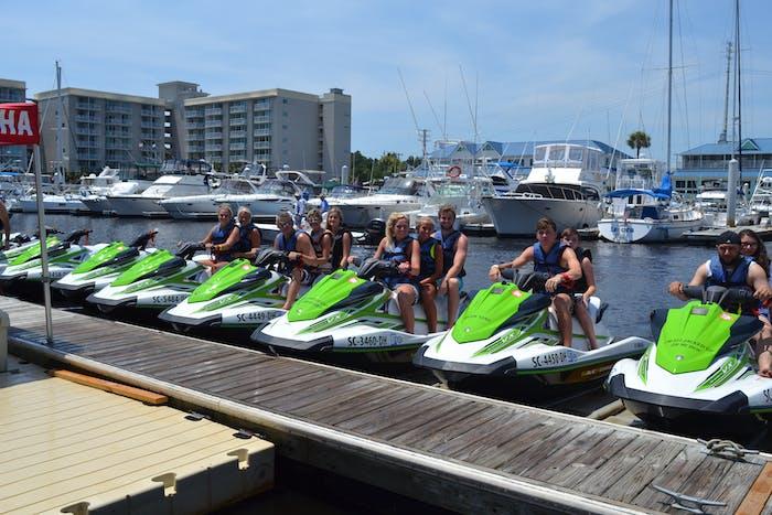 1 Hour Jet Ski Rental On The Ocean | Myrtle Beach Watersports