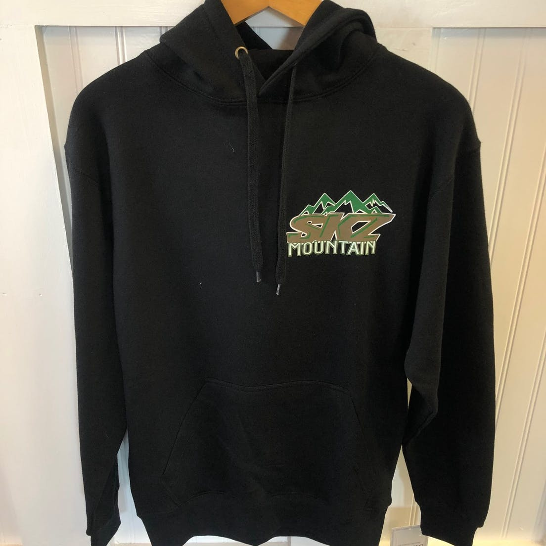 SKZ mountain hooded sweatshirt front