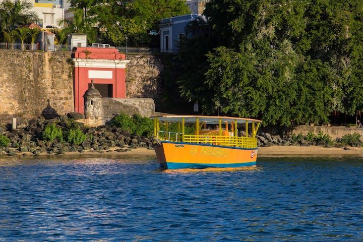 San Juan Harbor Boat Tour La Paseadora Image