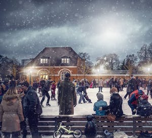 Frederiksberg Ice Skating Rink