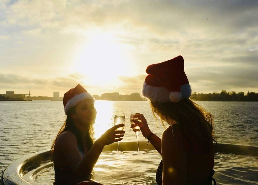 CopenHot in Christmas Sauna and spa experience