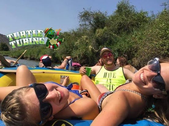 Turtle Tubing group