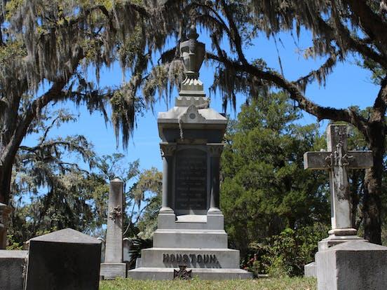 Bonaventure Cemetery Houston grave