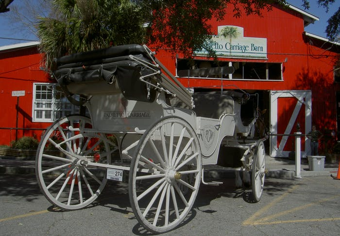 Charleston Sc Carriage Ride Tours