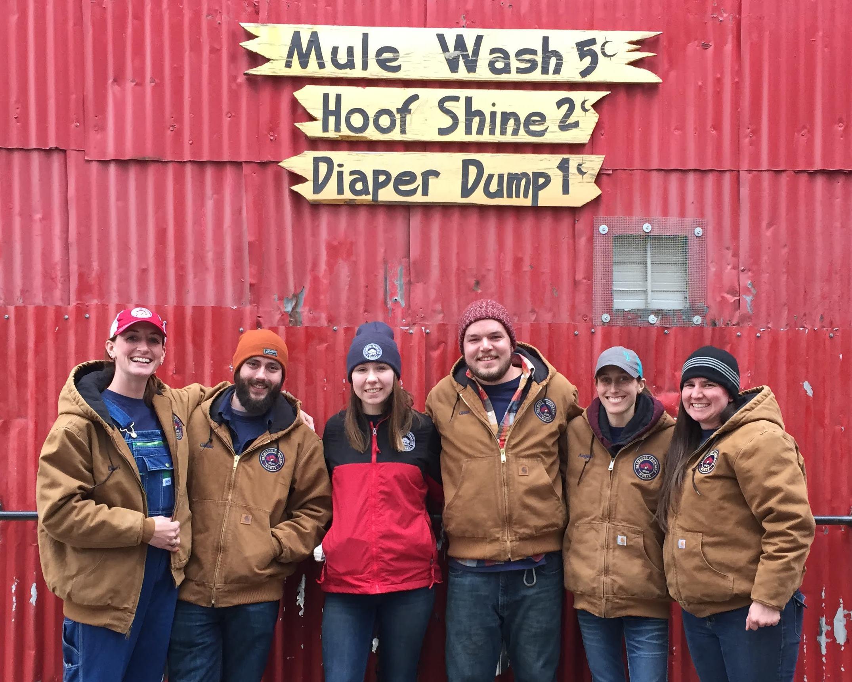 Palmetto barn staff