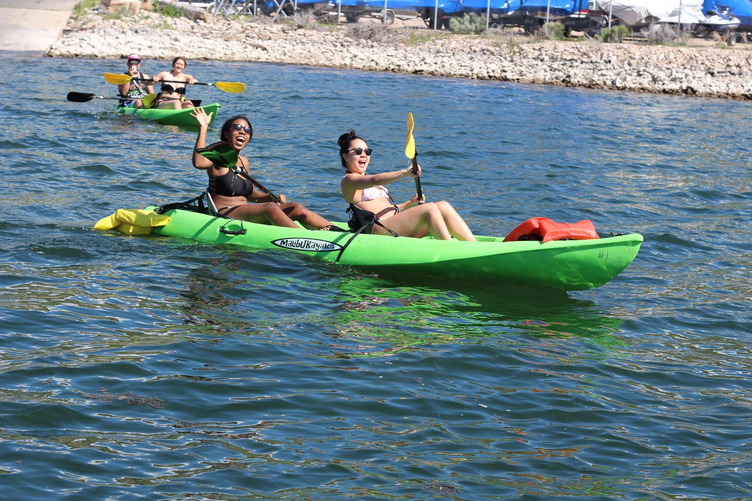 Tandem Kayak Rental Deer Creek Island Resort