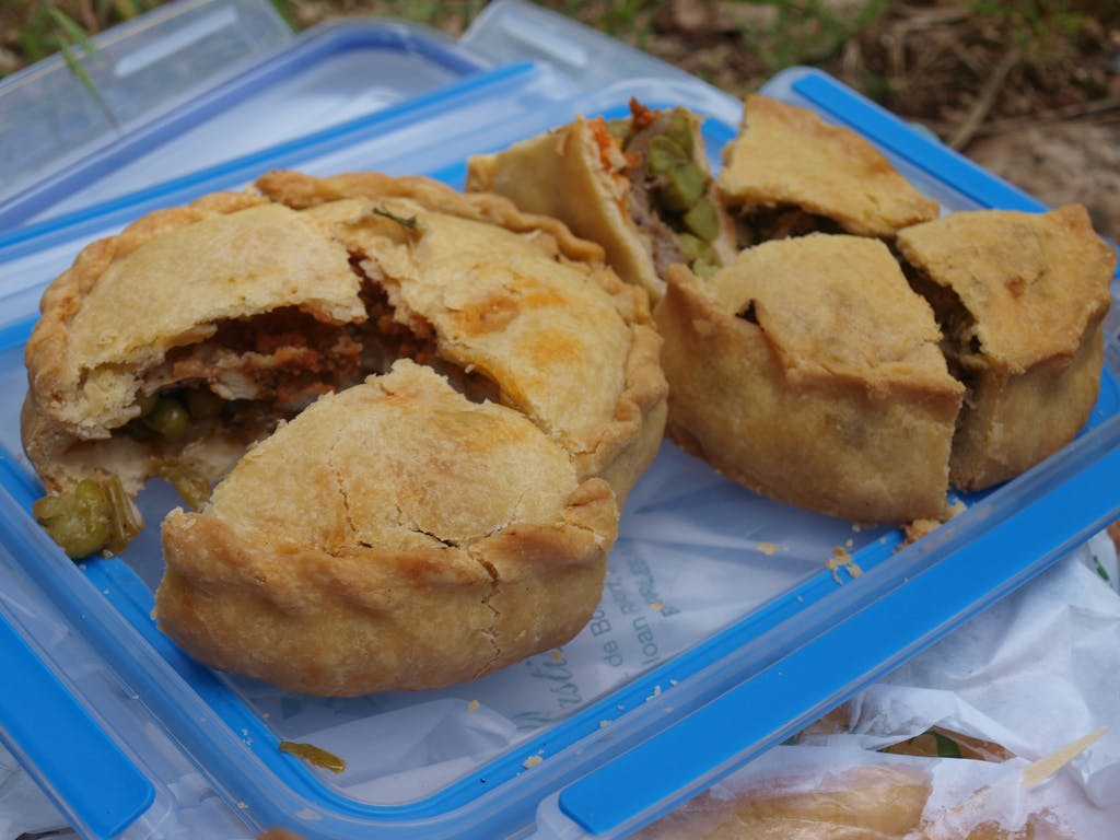 traditional mallorcan food - empanades