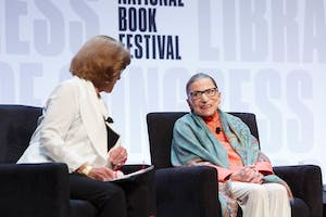 Ruth Bader Ginsburg et al. that are talking to each other