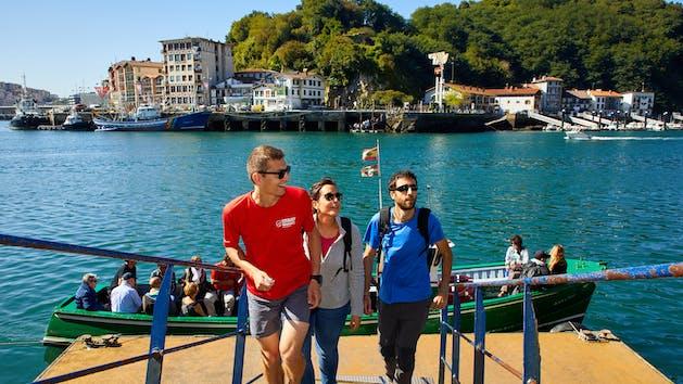 Touristic Tour Camino de Santiago, Pasaia, Donostia, San Sebastian, Gipuzkoa, Spain, Europe