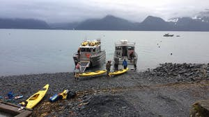 Landing Craft Load up for the National Parks