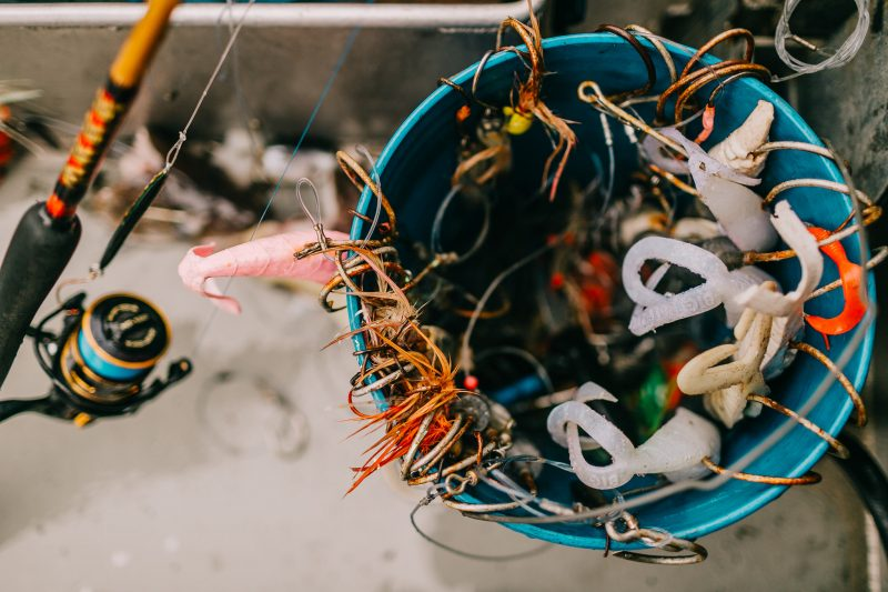 Deep Sea Fishing Tackle finds it's home in the Jig Bucket