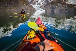 Northwestern Fjord kayaking in Seward