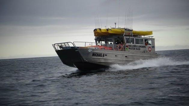 Miller's Landing water Taxi