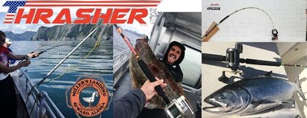 Thrasher rods and reels at Miller's landing