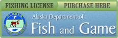 Alaska Department of Fish and Game Fishing License