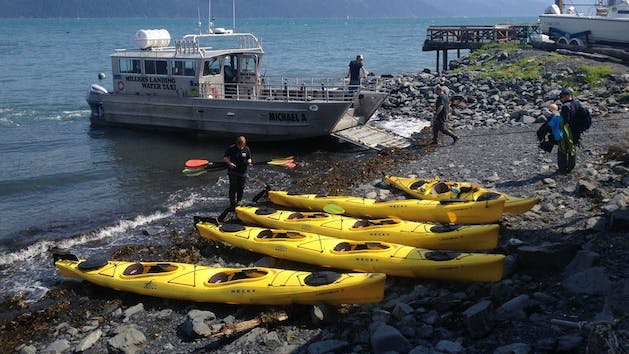 Orca Island to Three Alpine Glacier Paddle
