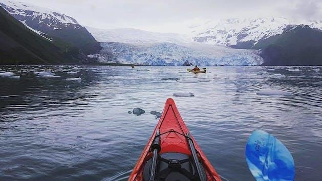 Northerwester Fjord in Kenai Fjords National Park Alaska