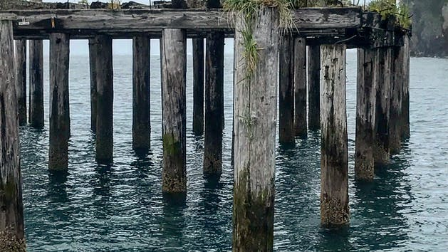 Caines Head Pier