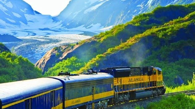 Anchorage to Seward Railroad