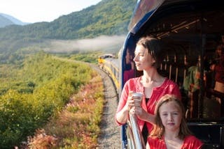 Gold Service Alaska Rail