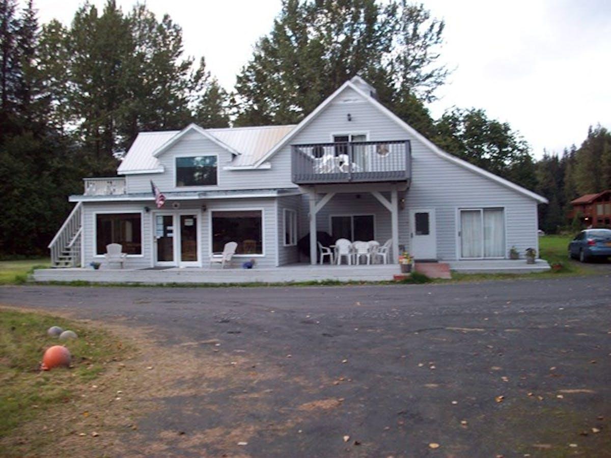 The Farm Main House in Seward, Alaska
