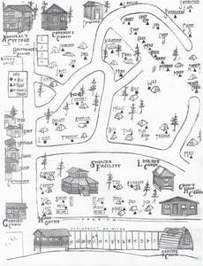 Miller's Campground Map