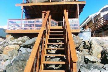 Oceanfront Inn Beach Bungalow in Seward, Alaska