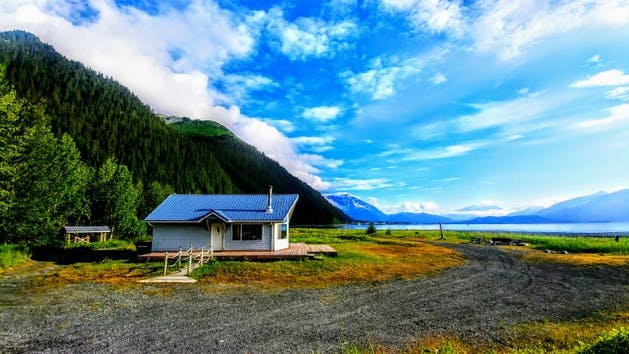 Uncle Jack's Cabin in Seward, Alaska