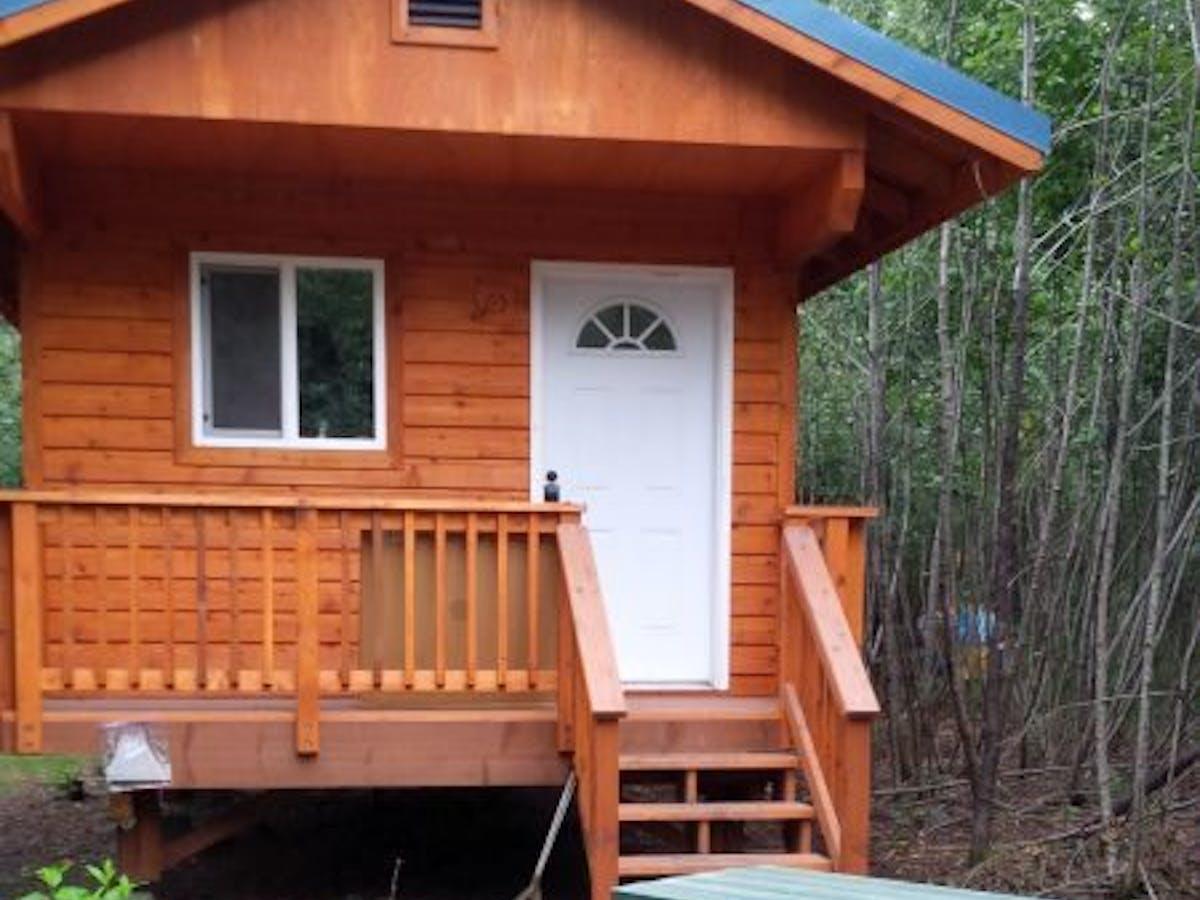 Silver Derby Cabin, Miller's Landing, Seward, AK