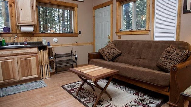 Treefort Studio Apartment living room