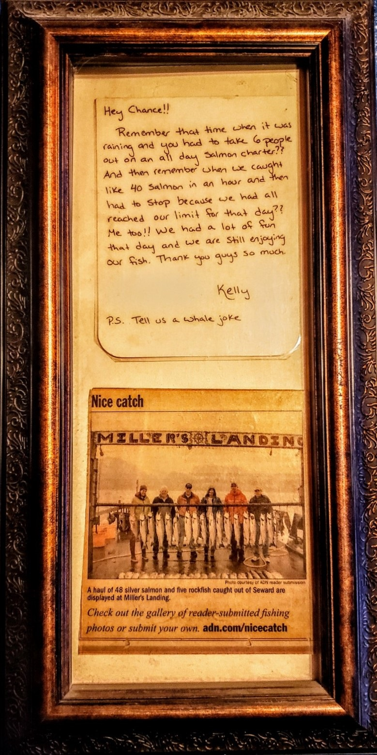 Newspaper Clipping and Note