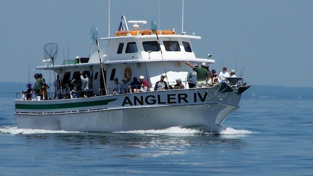 Private Charter Aboard Angler IV