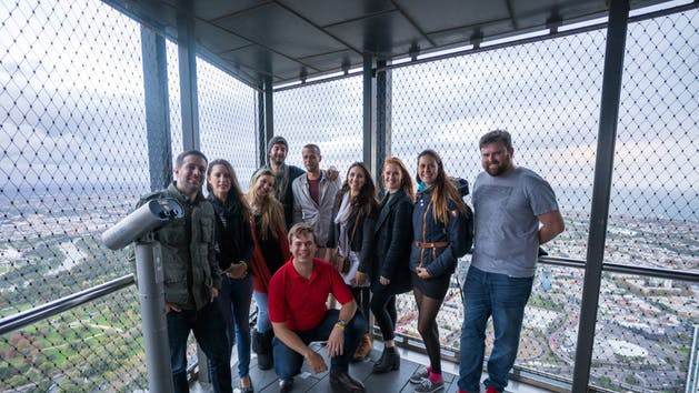 A private tour at Eureka Skydeck