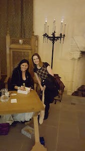 Catriona Stevenson and Diana Gabaldon