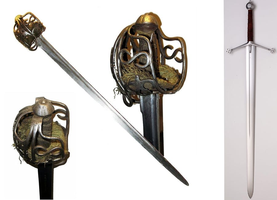 Is It A Claymore Or Scottish Basket Hilted Broadsword
