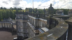 Hopetoun House photograph from the roof