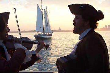 a duet of tall ship music from an era past