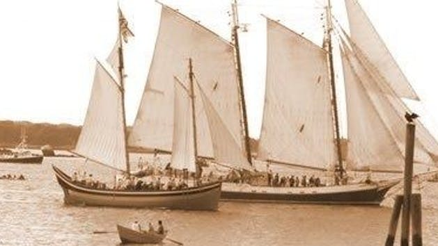 Liberty Fleet Schooner race