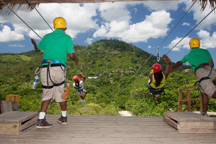 Zipline Adventure Punta Cana | Runners Adventures on