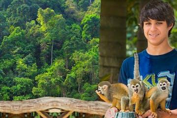 monkey tour punta cana