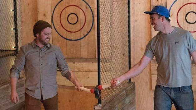 Forged axe throwing league