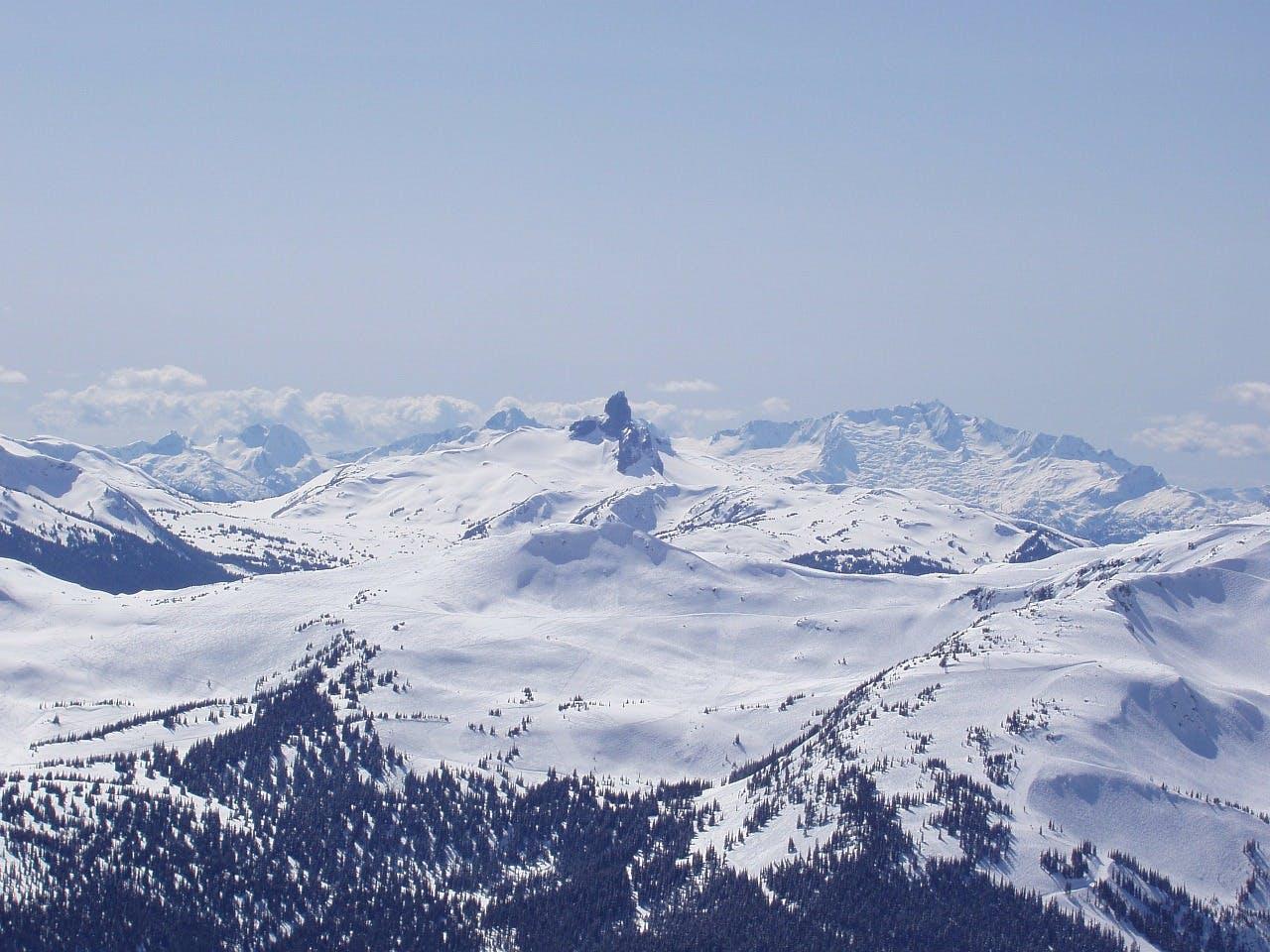 Whistler mountain view