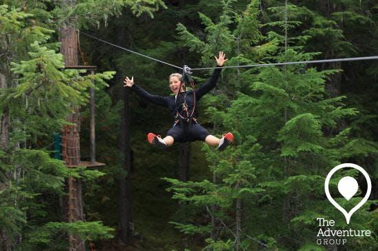 The Adventure Group Ziplining