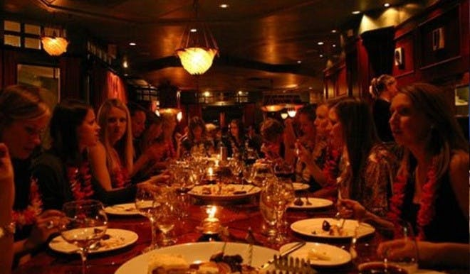 Ladies around a table with Whistler Tasting Tours