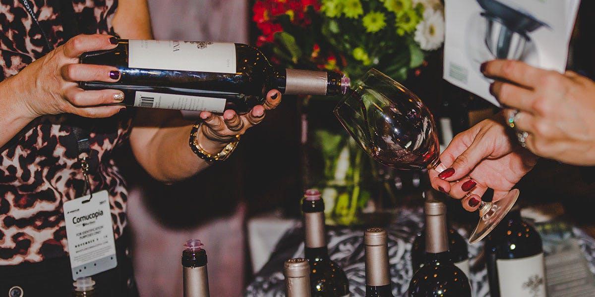 Cornucopia 2018 wine tasting