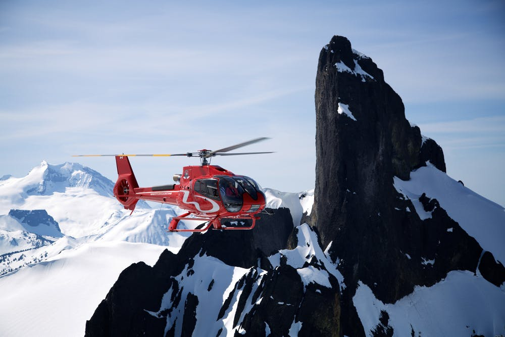A trip around Blacktusk, with Blackcomb Helicopters